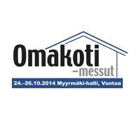 Omakoti-messut Vantaalla 24.-26.10.2014